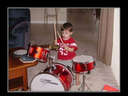 nothing says I hate you more than giving someones child a drum set