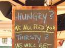 Promises a bar makes #thirsty #hungry #lonely #beer #drunk #food