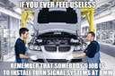 if you ever feel useless #bmw #car #turnsignal