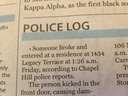 This police report is about the worst possible crime!