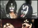 Dogs look like kiss