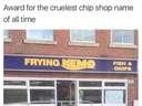 most cruel shop name