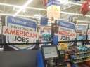 The irony at Walmart's Investing in American jobs
