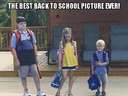 The best back to school picture ever