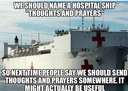 They should name a hospital ship this