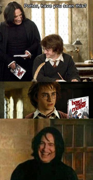 Harry Potter How I met your mom